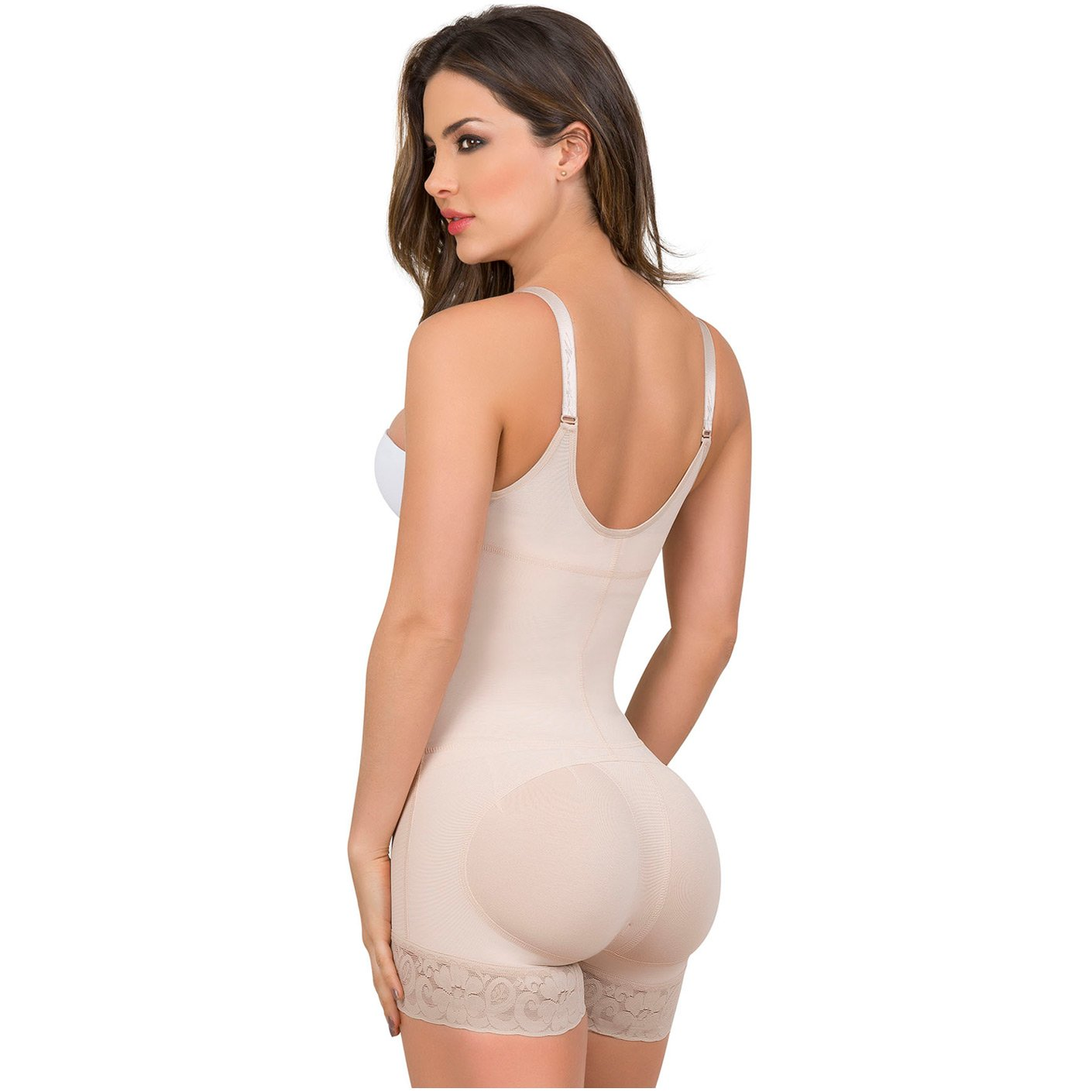 843ce6bc28456 MariaE 9235 Open Bust Shapewear for Women with Front Zipper - Pal Negocio