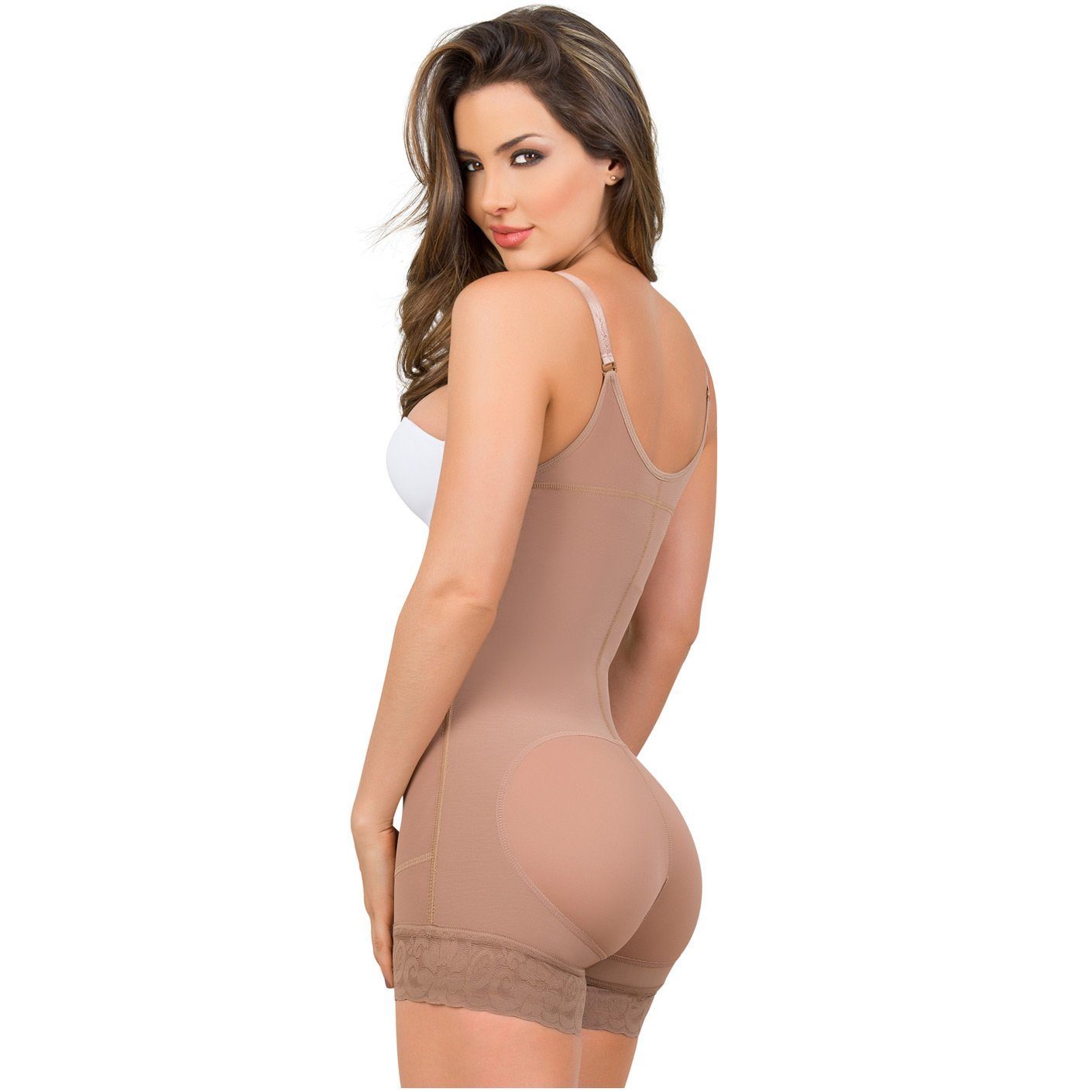 MariaE 9633 Tummy Control Butt Lifter Shaper Side Zipper - Pal Negocio