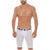 Mundo Unico Men Colombian Solid Microfiber Long Boxers Briefs Calzoncillos
