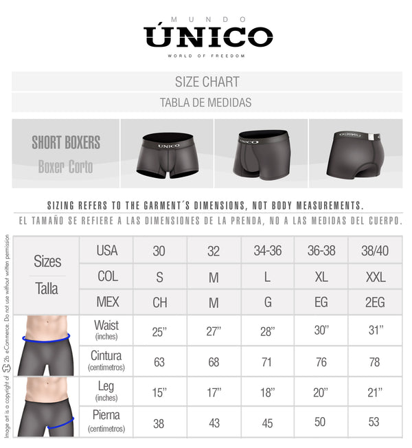 Short Boxer Ebano Natural City - Showmee