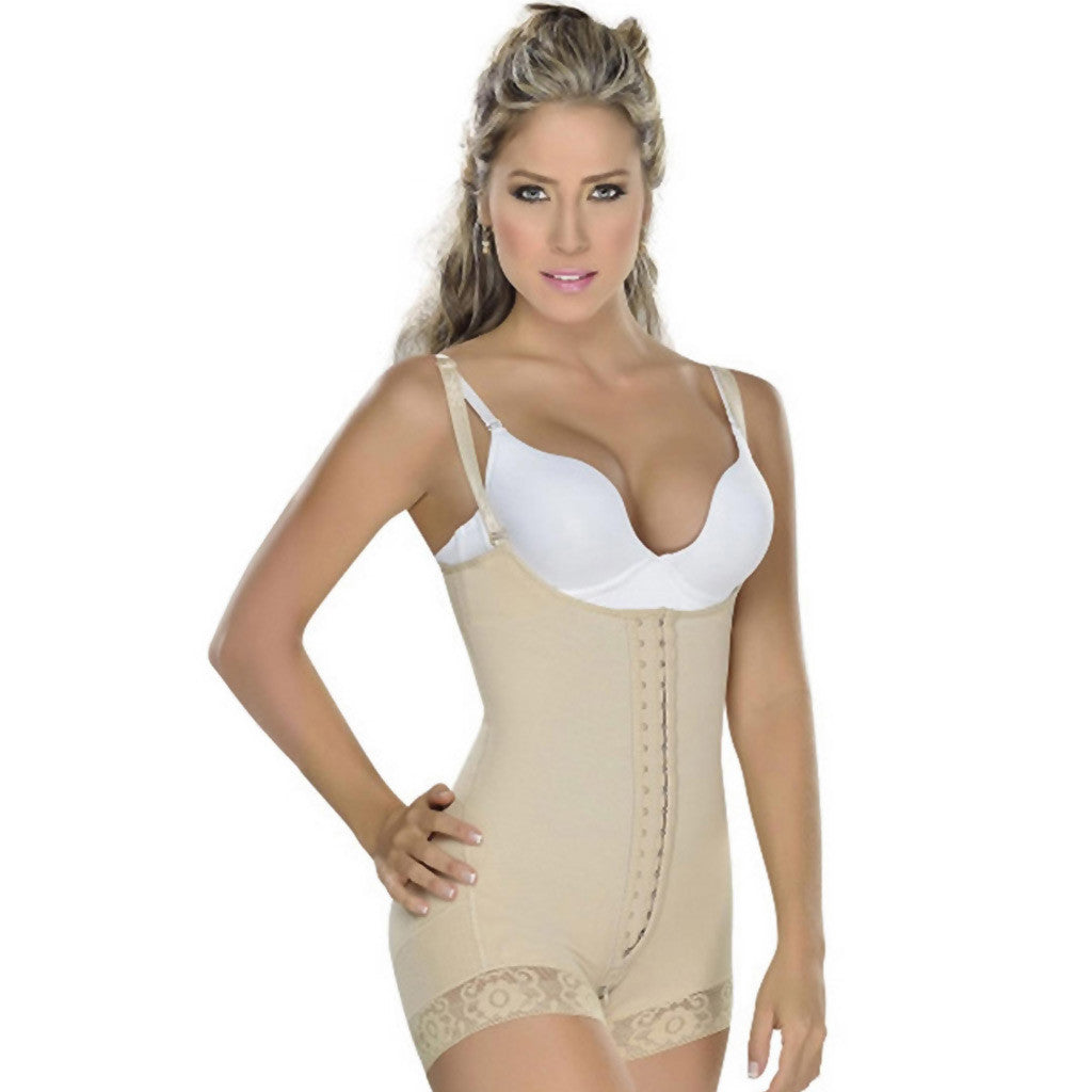 Fajas MYD 0047 Colombian Women's Strapless Girdle