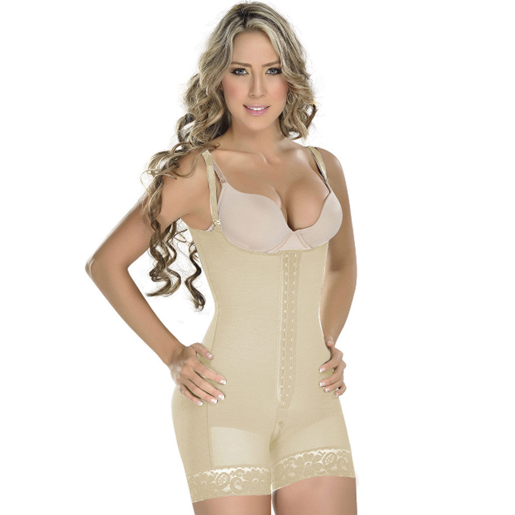 M&D Shapewear: 0068 - Mid Thigh High Compression Post Surgery Garment - Showmee Store