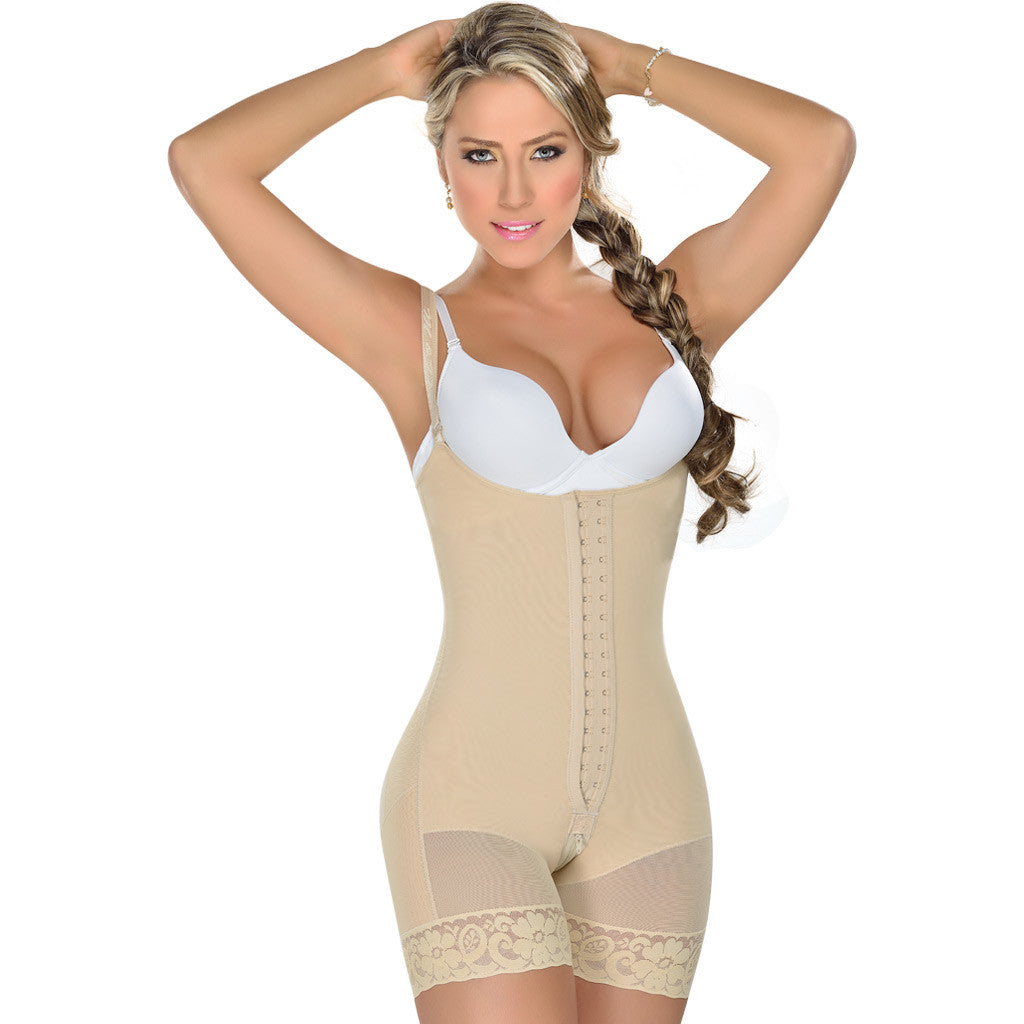 Fajas MYD 0069 Women's Waist Trimmer Strapless Girdle Modeladora
