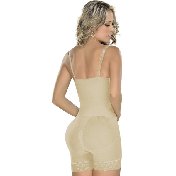 Fajas MYD 0069 Women's Waist Trimmer Strapless Girdle Modeladora - Showmee