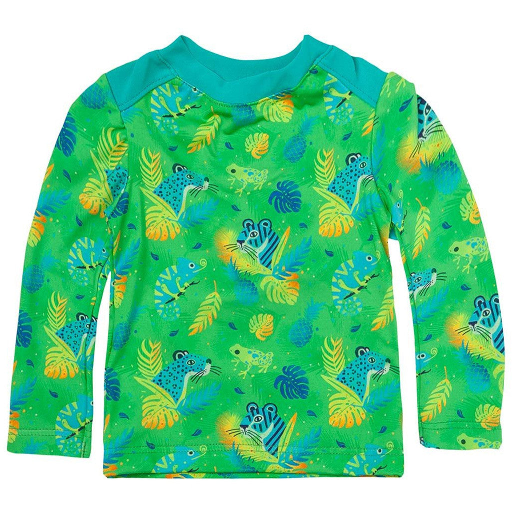 OFFCORSS Baby Boy Long Sleeve Rash Guard