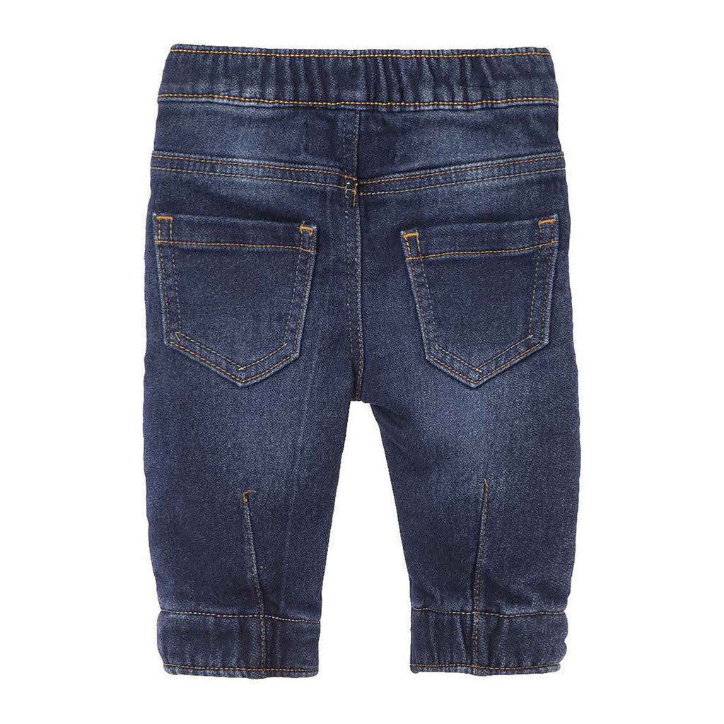 OFFCORSS: Drawstring Denim Pants - Showmee Store
