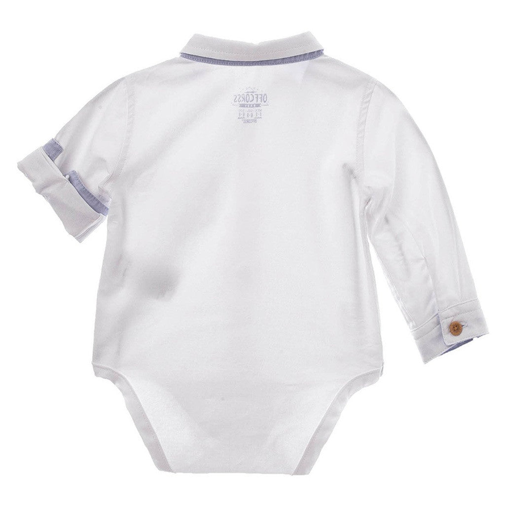 Offcorss Baby Boy Long Sleeve Bodysuit Newborn 18 Dress Shirt Onesie