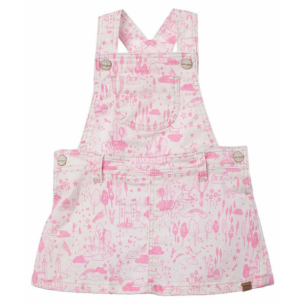 72069e3f224a6 OFFCORSS Denim Overall Dress Skirtall Baby Girl Infant Clothing Ropa B -  Showmee