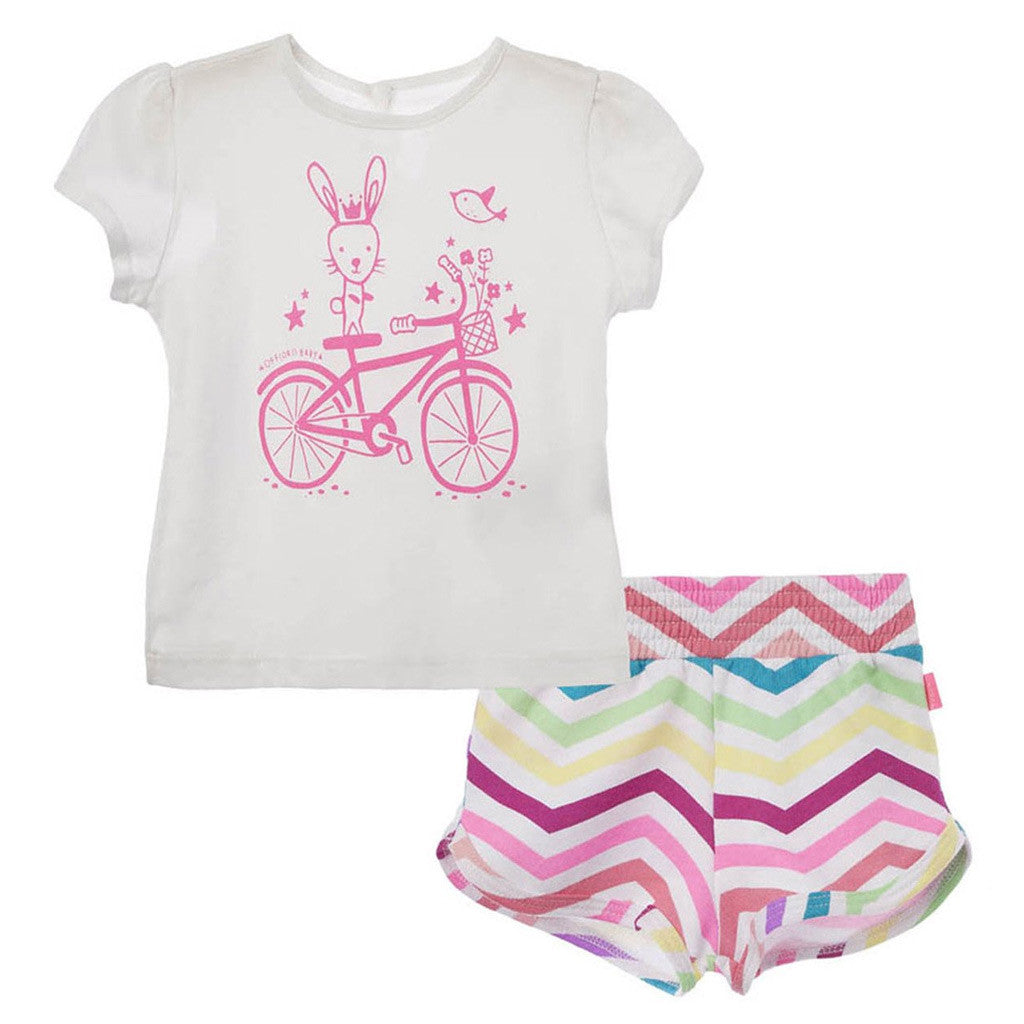OFFCORSS T Shirt and Shorts Baby Outfit Set Kids Girls Clothes Ropa Bebe Niña