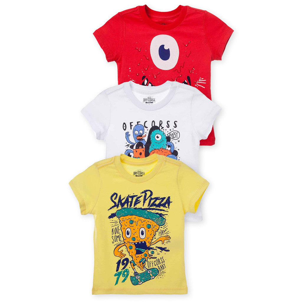 OFFCORSS Toddler T Shirt for Boys Clothing Camisetas para Bebe Ropa de Niño