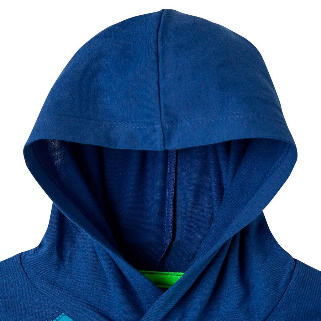 60b00cbda OFFCORSS Toddler Boy Hooded Sweatshirt 12m 18m 2T 3T (Blue) - Showmee
