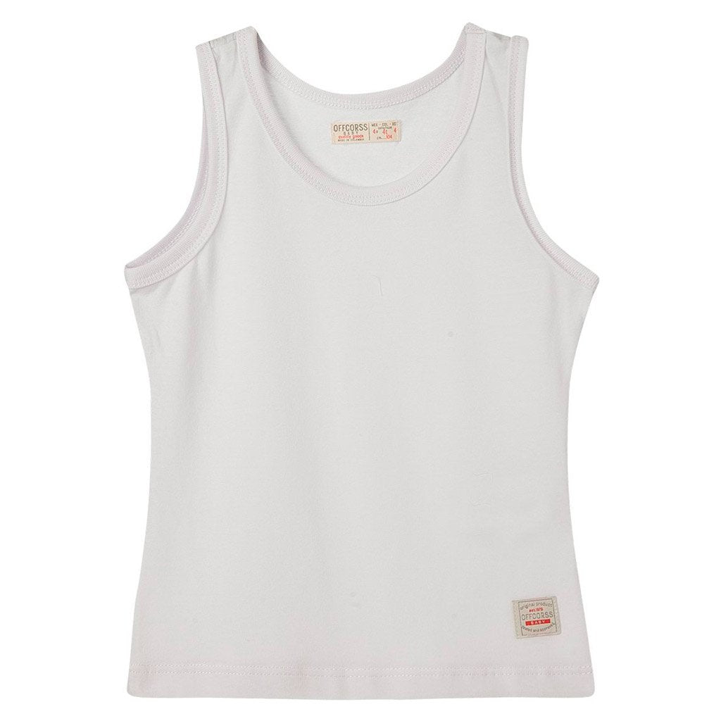 Toddler Boy Cute Tank Top Sleeveless 12m 18m 2T 3T (White, Gray, Striped)