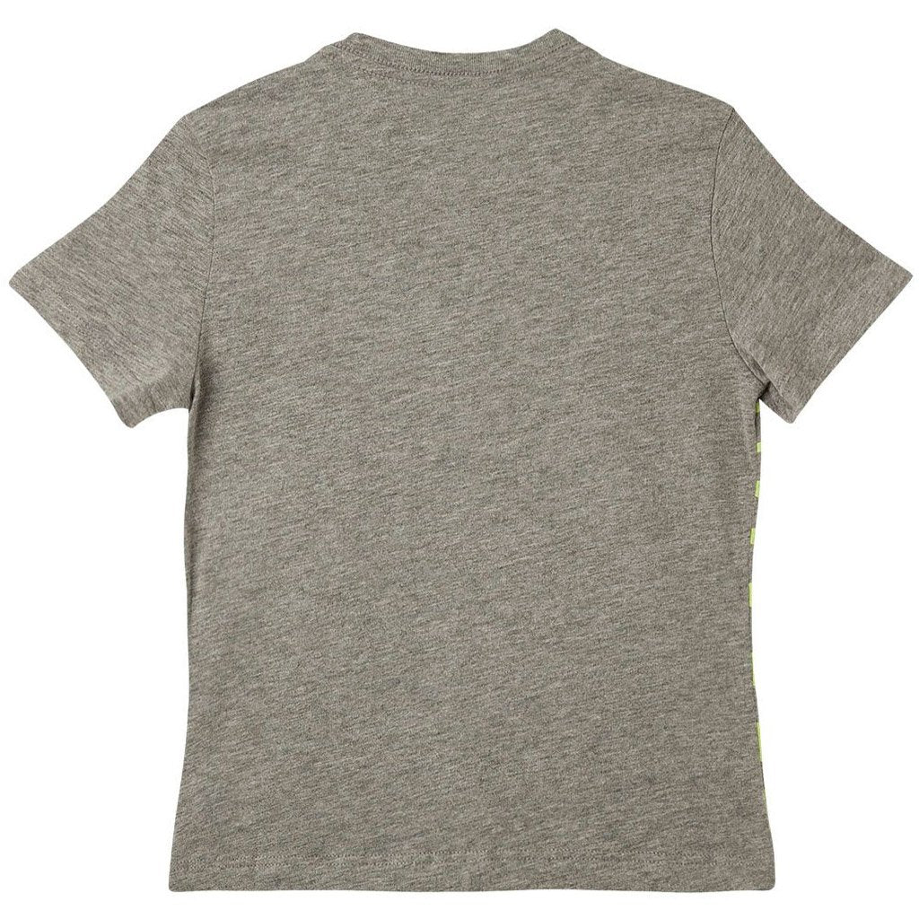 Toddler Boy Front Pocket T Shirt Scoop Neck 12m 18m 2T 3T (Blue, Gray, White)