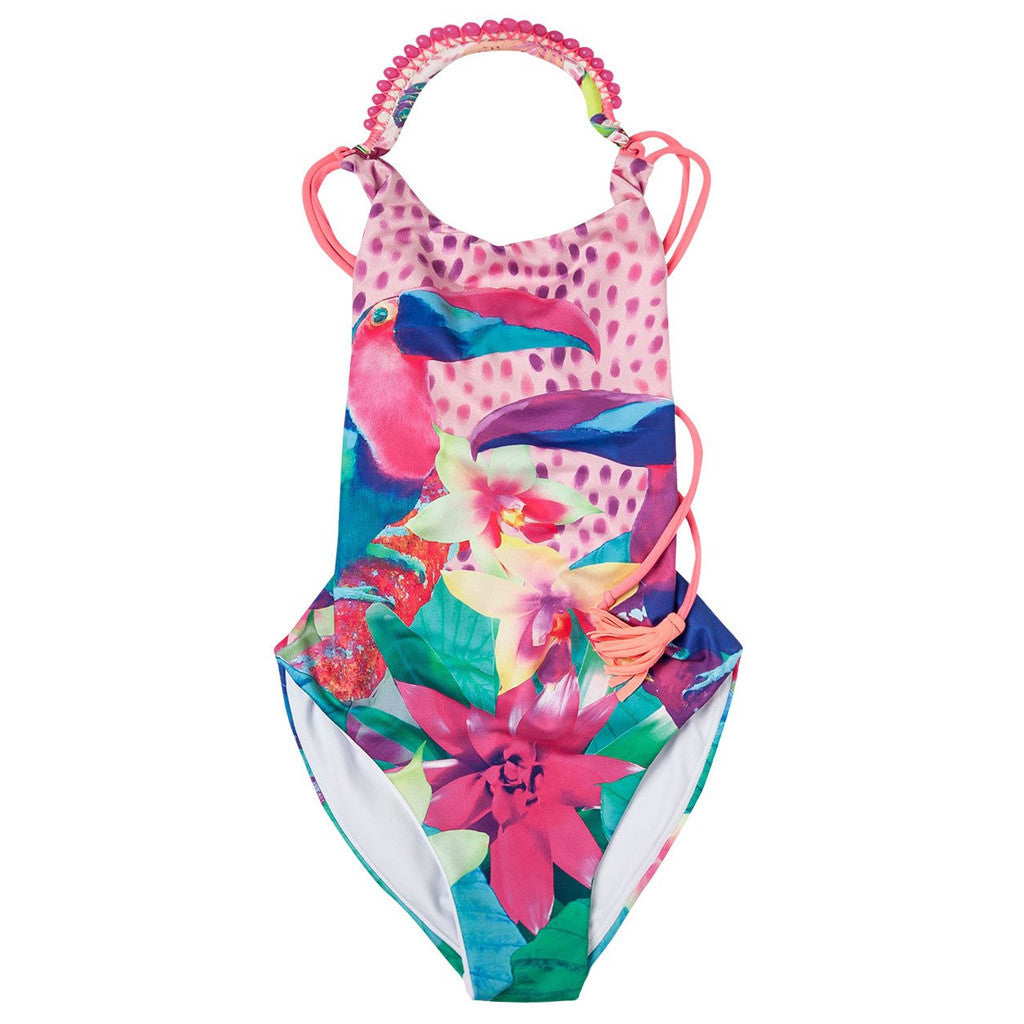 OFFCORSS Big Girl One Piece Swimsuit - Showmee Store