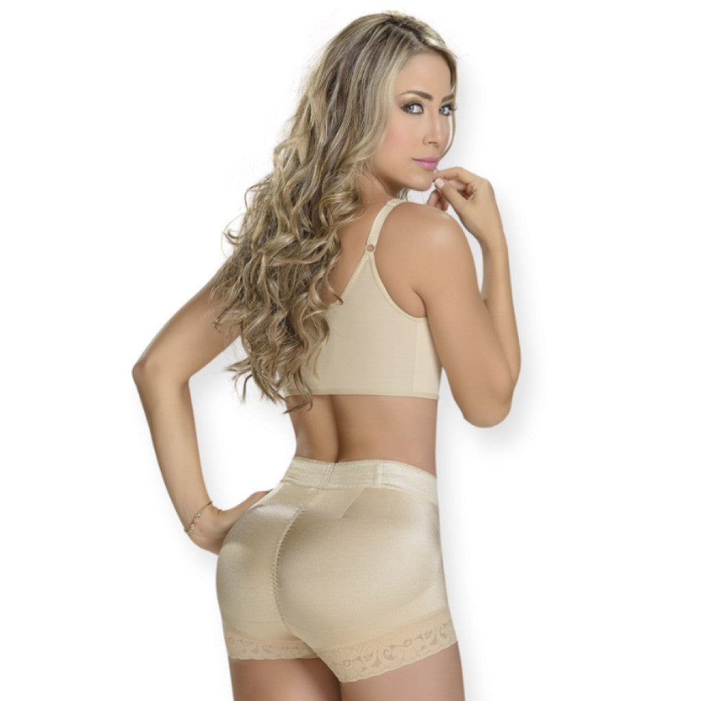 Shapes Secrets - MYD Fajas S0211 - Rear Lifting Shapewear Low Rise Boyshorts