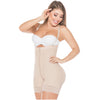 Fajas Salome 0215 Strapless Mid Thigh Body Shaper for Women / Powernet - Showmee | Retail Locations & Stores for eCommerce Champs | Try - Buy - Pick Up Now!