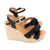 Silvia Cobos CHA CHA Wedge Crossed Espadrille