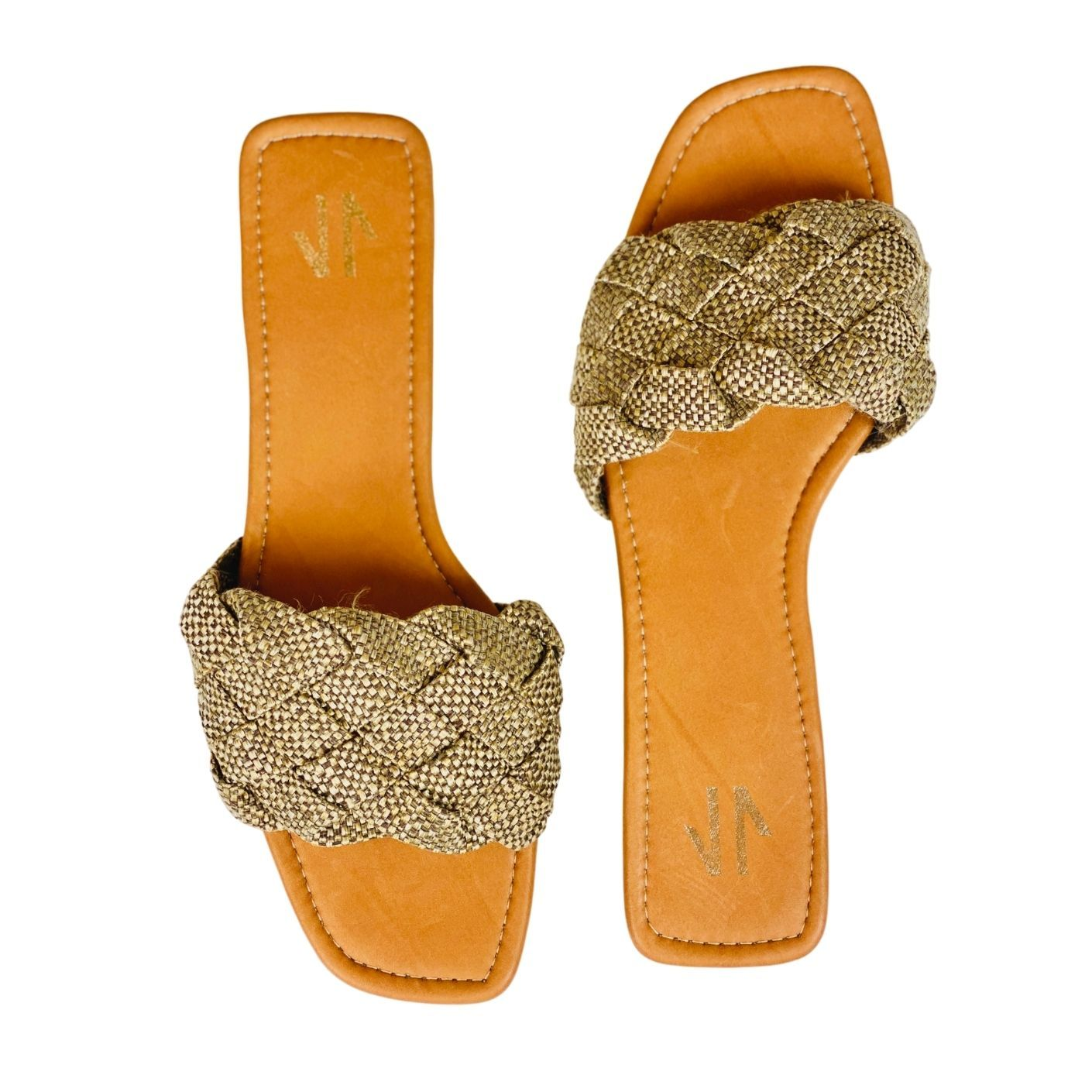 Silvia Cobos NAXOS Flat Sandals Brown