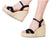 Silvia Cobos CRISS CROSS Ankle Strap Wedges