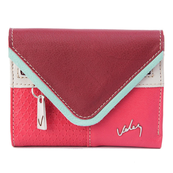 Velez Genuine Full Grain Leather Bifold Wallet for Women Billetera Cuero de Mujer - Showmee