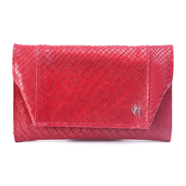 Velez Genuine Full Grain Leather Trifold Wallet for Women Billetera Cuero de Mujer - Showmee
