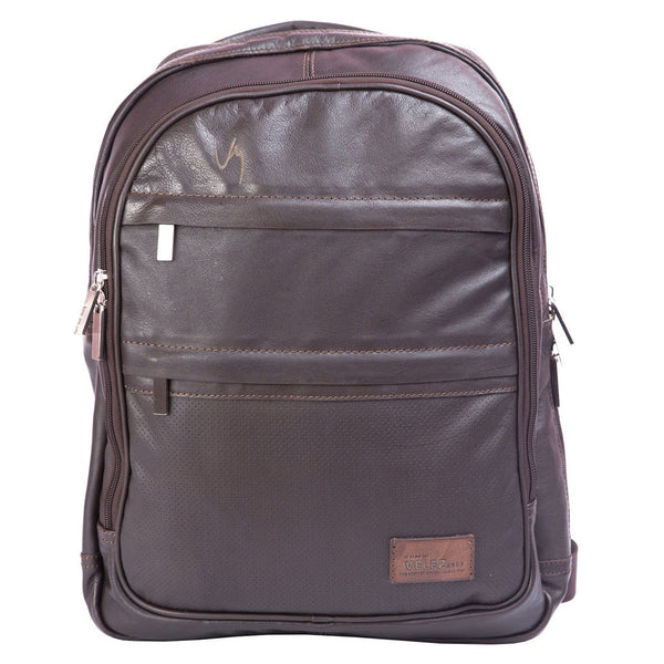 Velez Genuine Leather Backpack for Men Bolso en Cuero de Hombre - Showmee