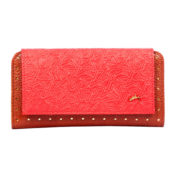 1016457 Velez Genuine Full Grain Leather Trifold Wallet for Women Billetera Cuero de Mujer - Showmee