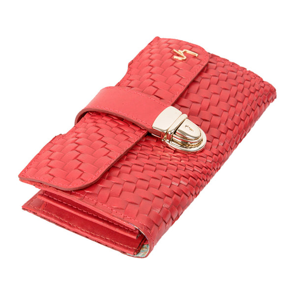 1016910 Velez Genuine Full Grain Leather Trifold Wallet for Women Billetera Cuero de Mujer - Showmee