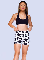 Women's Cow-Moo-Flage Shorts