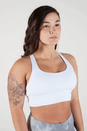 F3 Switchback Bra - White