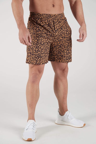 Men's Leopard Endurance Shorts