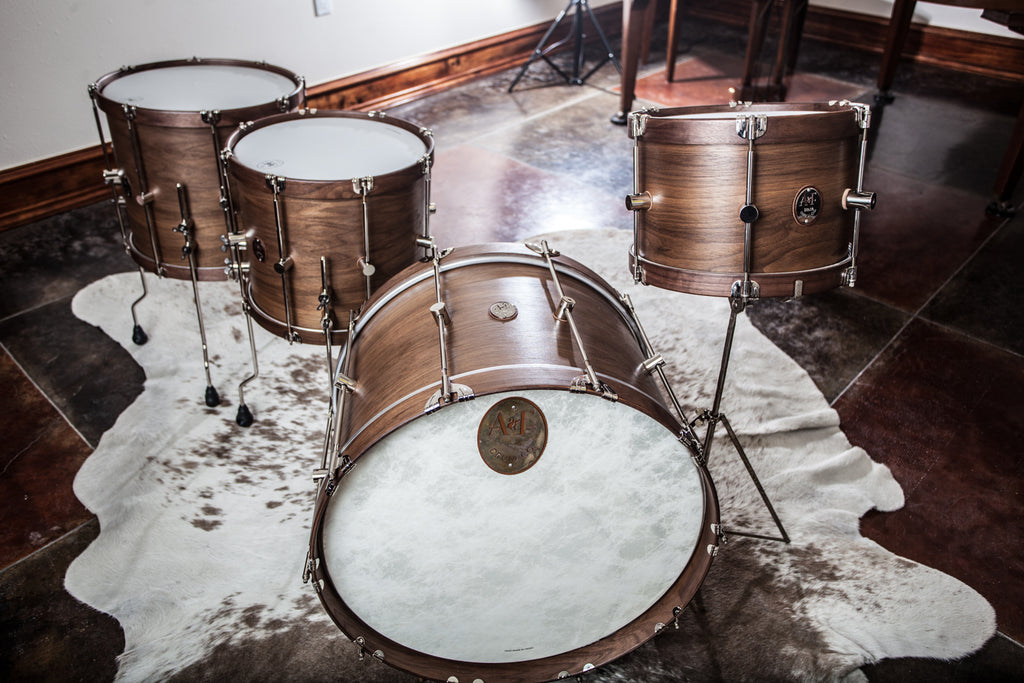 Walnut Club Bass Drum