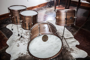 Walnut Club Floor Tom