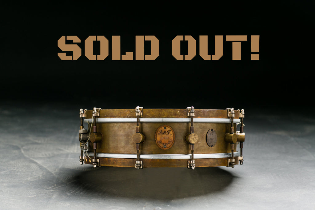 4x14 Limited Edition Snare - A&F Drum Co - 1