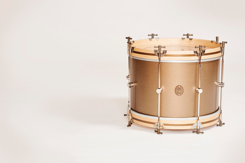 Deco Gold Maple Club Bass Drum