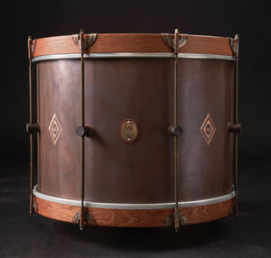 Copper Elite Bass Drum