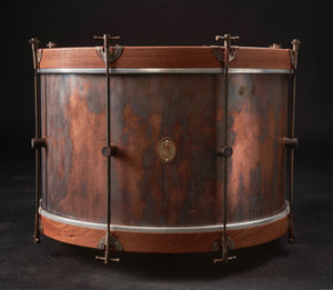 Copper Bass Drum