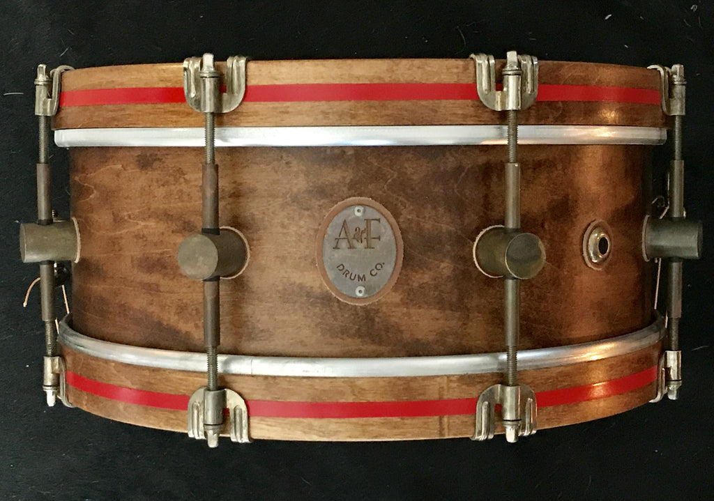 8-Lug Steam Bent Solid Maple Shell Whisky Field Snare