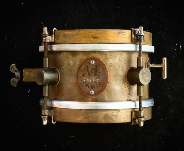 4x6 Raw Brass Snare