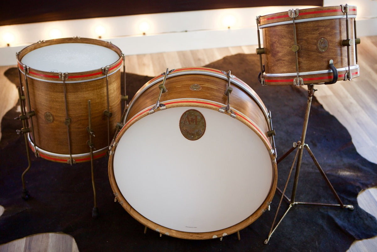whisky maple field bass drum a f drum co. Black Bedroom Furniture Sets. Home Design Ideas