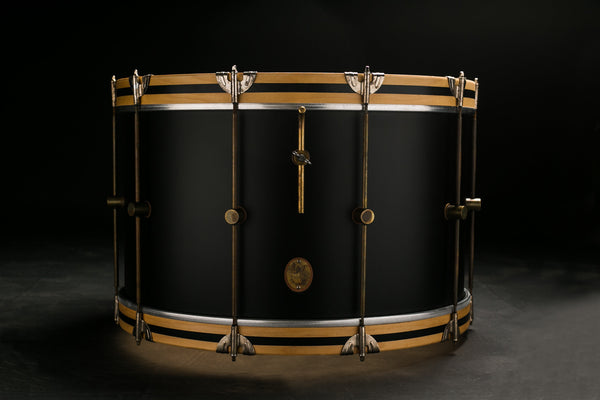 Black Club Bass Drum - A&F Drum Co