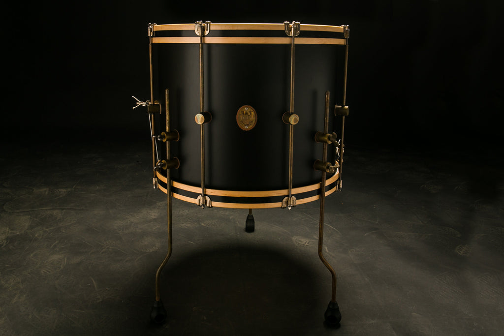 Black Club Floor Tom - A&F Drum Co