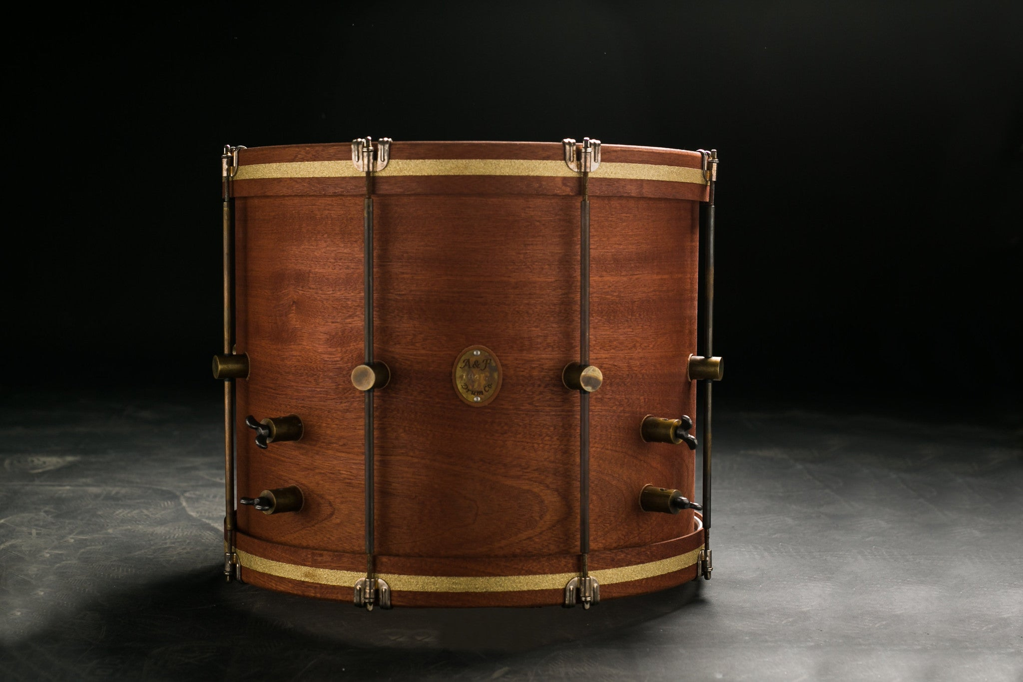Mahogany Club Floor Tom - A&F Drum Co - 2