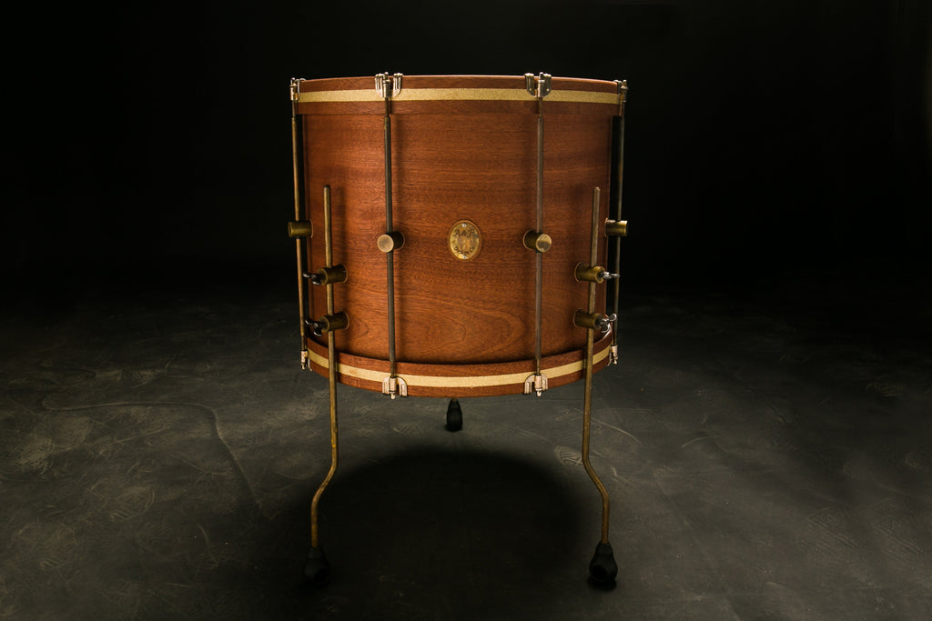 Mahogany Club Floor Tom - A&F Drum Co - 1