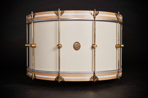 1901 Limited Edition Antique White Maple Club Bass Drum