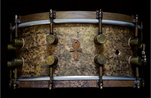 6.5x14 ANKH Bell Bronze Snare (a A&F drum Co. and Sabain Collabortation)