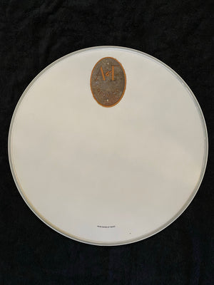A&F Logo Bass Drum Heads by Remo