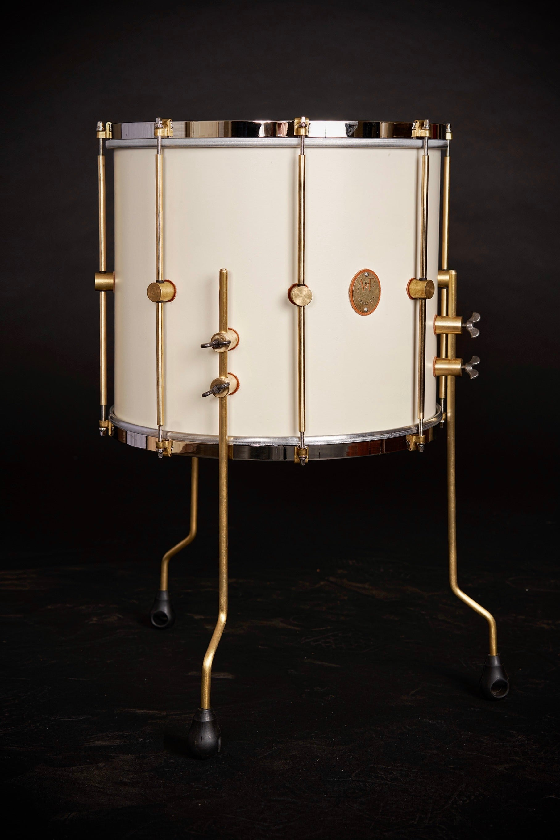 1901 Limited Edition Antique White Maple Club Floor Tom
