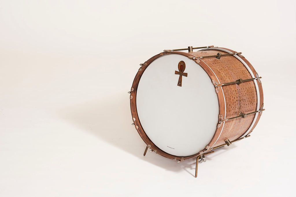 Ankh Bass Drum(A&F Drum Co. & Sabian Collaboration)