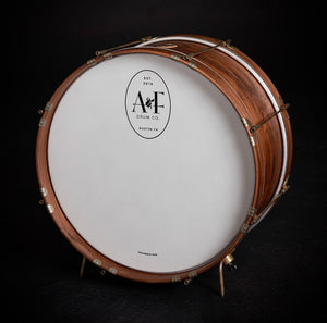 Walnut Single Tension Bass Drum
